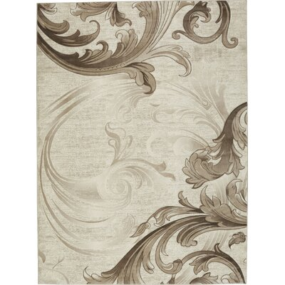 Penman Beige Area Rug Rug Size: Rectangle 39 x 59