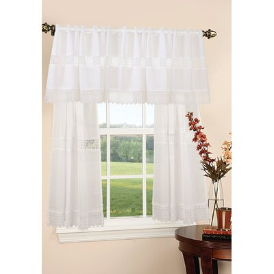 Orly Design Sheer Roman Shades Color: White