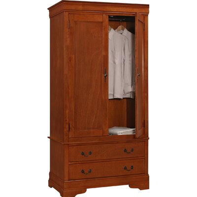 Corbeil Armoire Color: Oak