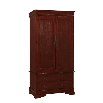 Corbeil Armoire Finish: Cherry