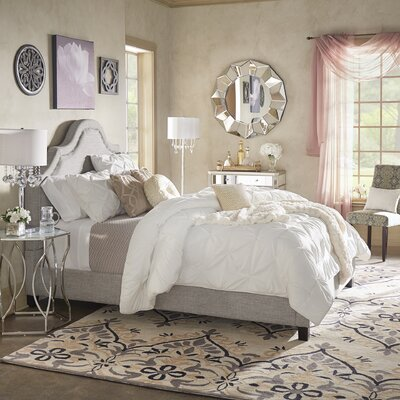 Nais Upholstered Platform Bed Size: King