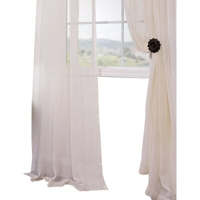 Andi Sheer Rod Pocket Curtain Panel Pair