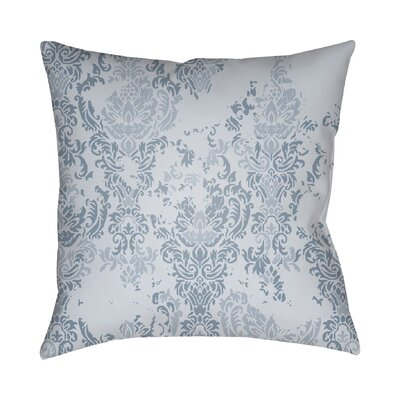 Chapelle Throw Pillow Size: 18 H x 18 W x 4 D, Color: Slate Blue