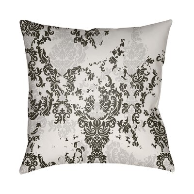Chapelle Throw Pillow Size: 20 H x 20 W x 4 D, Color: White/Black