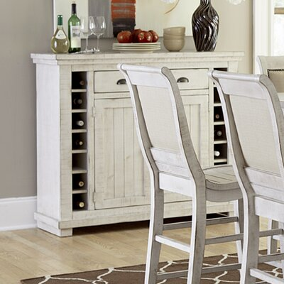 Castagnier Server Color: Distressed White