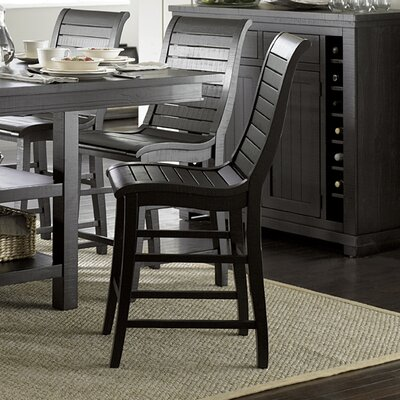 Castagnier 24 Bar Stool Finish: Distressed Black