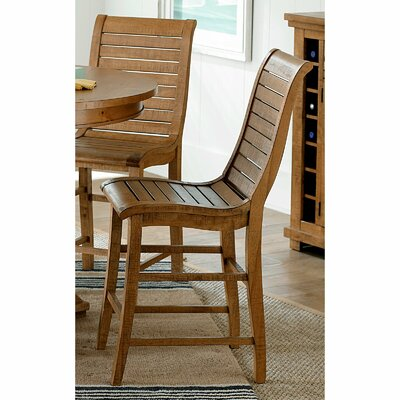 Castagnier 24 Bar Stool Finish: Distressed Pine