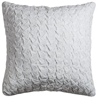 Lilas Cotton Voile Throw Pillow Color: White
