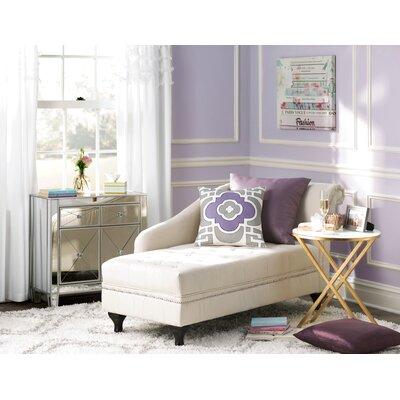 Hugo Chaise Lounge Upholstery: Khaki