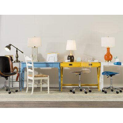 Amaury Writing Desk Color: Heritage Blue