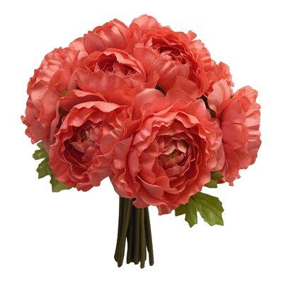 Faux Ranunculus Bouquet