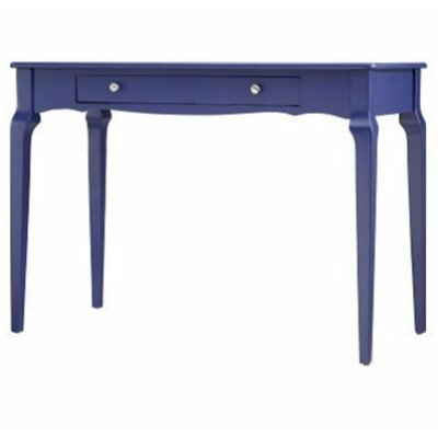 Amaury Writing Desk Color: Twilight Blue