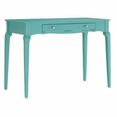 Amaury Writing Desk Color: Marine Green