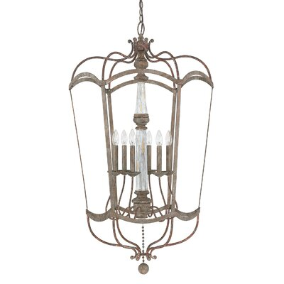Amelia 6-Light Foyer Pendant