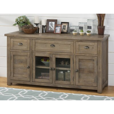 Saint-Andre 60-70 TV Stand Color: Antique Brass, Width of TV Stand: 32 H x 60 W x 19 D