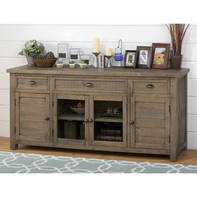 Saint-Andre 60-70 TV Stand Width of TV Stand: 32 H x 70 W x 19 D, Color: Reclaimed Pine Wood