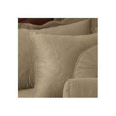 Gilles Cotton Throw Pillow Color: Tea Green