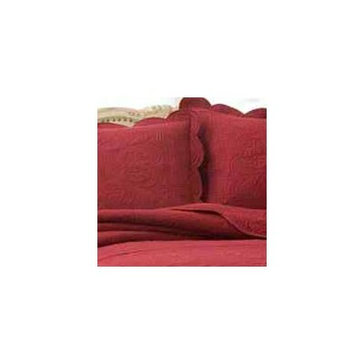 Ambroise Cotton Throw Pillow Color: Biking Red