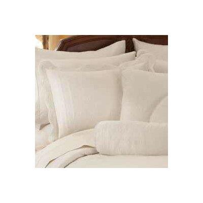 Ambroise Standard Sham Color: White