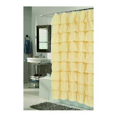Atia Voile Ruffle Tier Shower Curtain