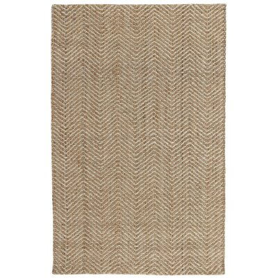 Aymen Hand-Woven Natural/Bleach Area Rug Rug Size: 2 x 3
