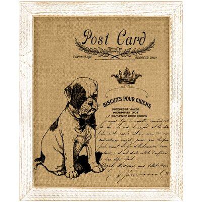 'Dog' Framed Graphic Art