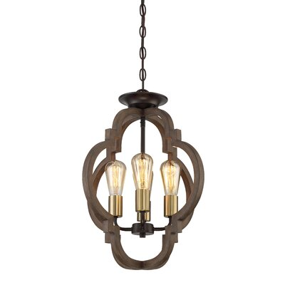 Tremiere 4-Light Geometric Pendant