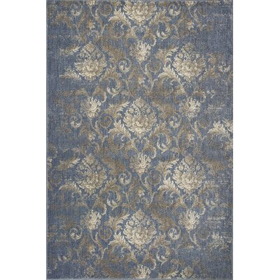 Baume Denim Area Rug Rug Size: Rectangle 22 x 33