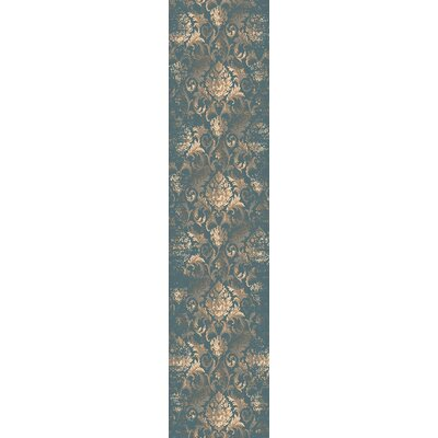 Baume Denim Area Rug Rug Size: Runner 22 x 711