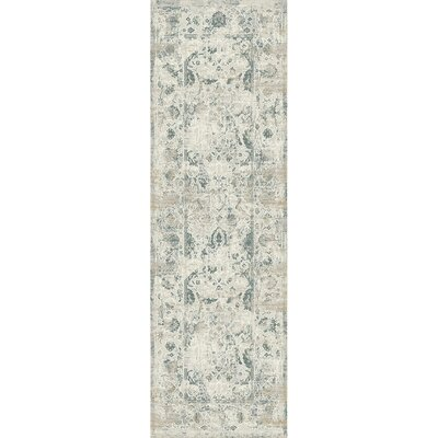 Camellia Ivory Area Rug Rug Size: Runner 22 x 611