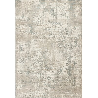 Camellia Ivory Area Rug Rug Size: 53 x 77