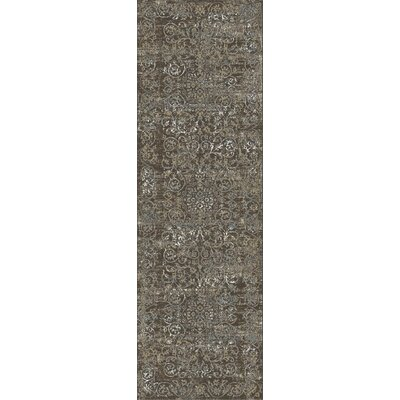 Camellia Taupe Area Rug Rug Size: Runner 22 x 611