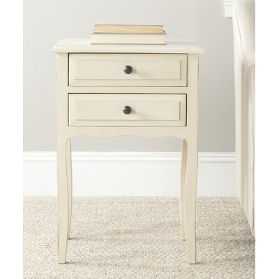 Bourrache 2 Drawer Nightstand