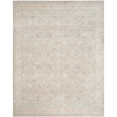 Bertille Gray/Light Gray Area Rug Rug Size: Rectangle 9 x 12