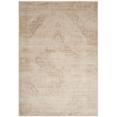 Bilal Stone Area Rug Rug Size: Rectangle 33 x 57