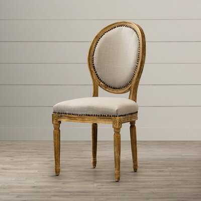 Hadrien Wood Traditional French Side Chair