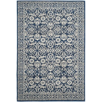 Montelimar Royal Ivory Area Rug Rug Size: Rectangle 67 x 9