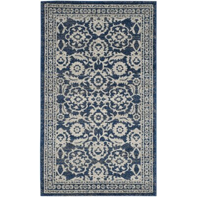 Montelimar Royal Ivory Area Rug Rug Size: Rectangle 3 x 5