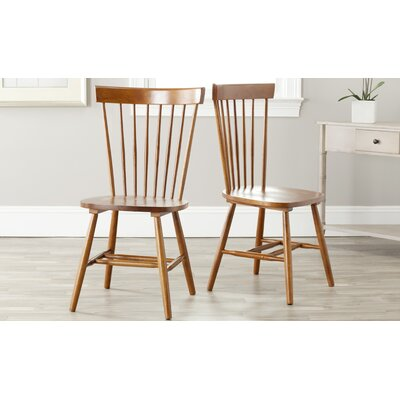 Saint-Pierre Solid Wood Dining Chair Finish: Natural