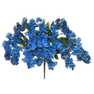 Wisteria Bush Flower Color: Blue