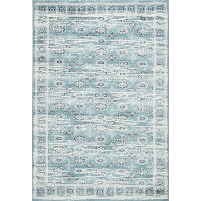 Mahon Blue Area Rug Rug Size: Rectangle 8 x 10