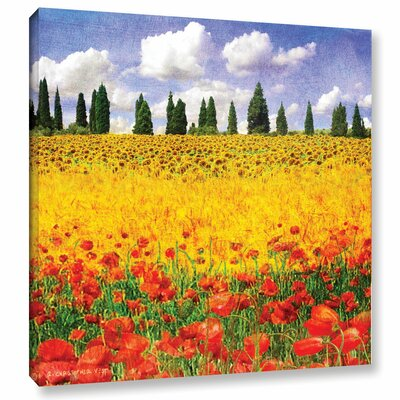 Lombardy Painting Print on Wrapped Canvas
