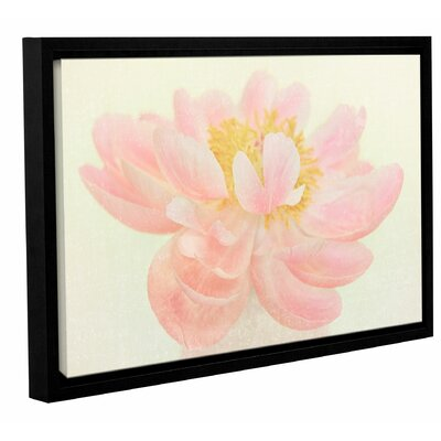 Nonchalant Peony Framed Painting Print