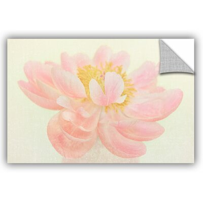Nonchalant Peony Painting Print Size: 12