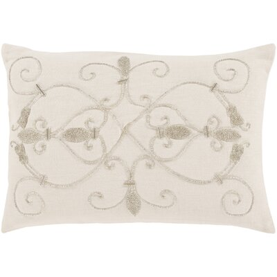 Mattheo Throw Pillow Color: Ivory
