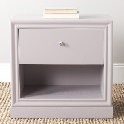 Tussilage End Table Color: Quartz Gray