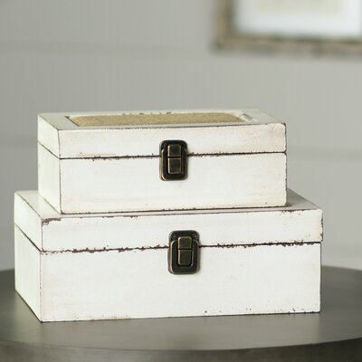 2-Piece Kira Trinket Box Set