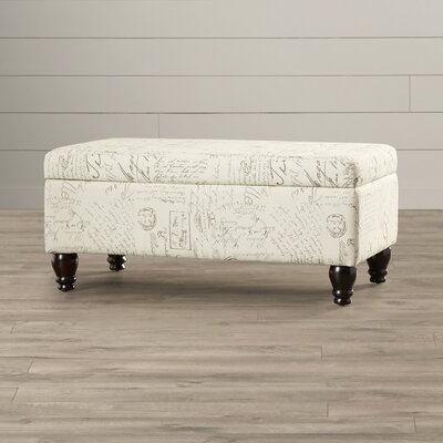 Dashiell Fabric Storage Bedroom Bench