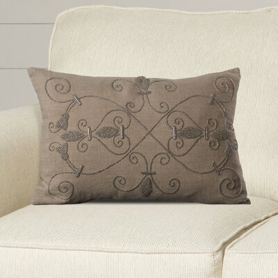 Mattheo Throw Pillow Color: Light Gray