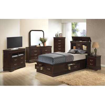 Corbeil Storage Platform Customizable Bedroom Set